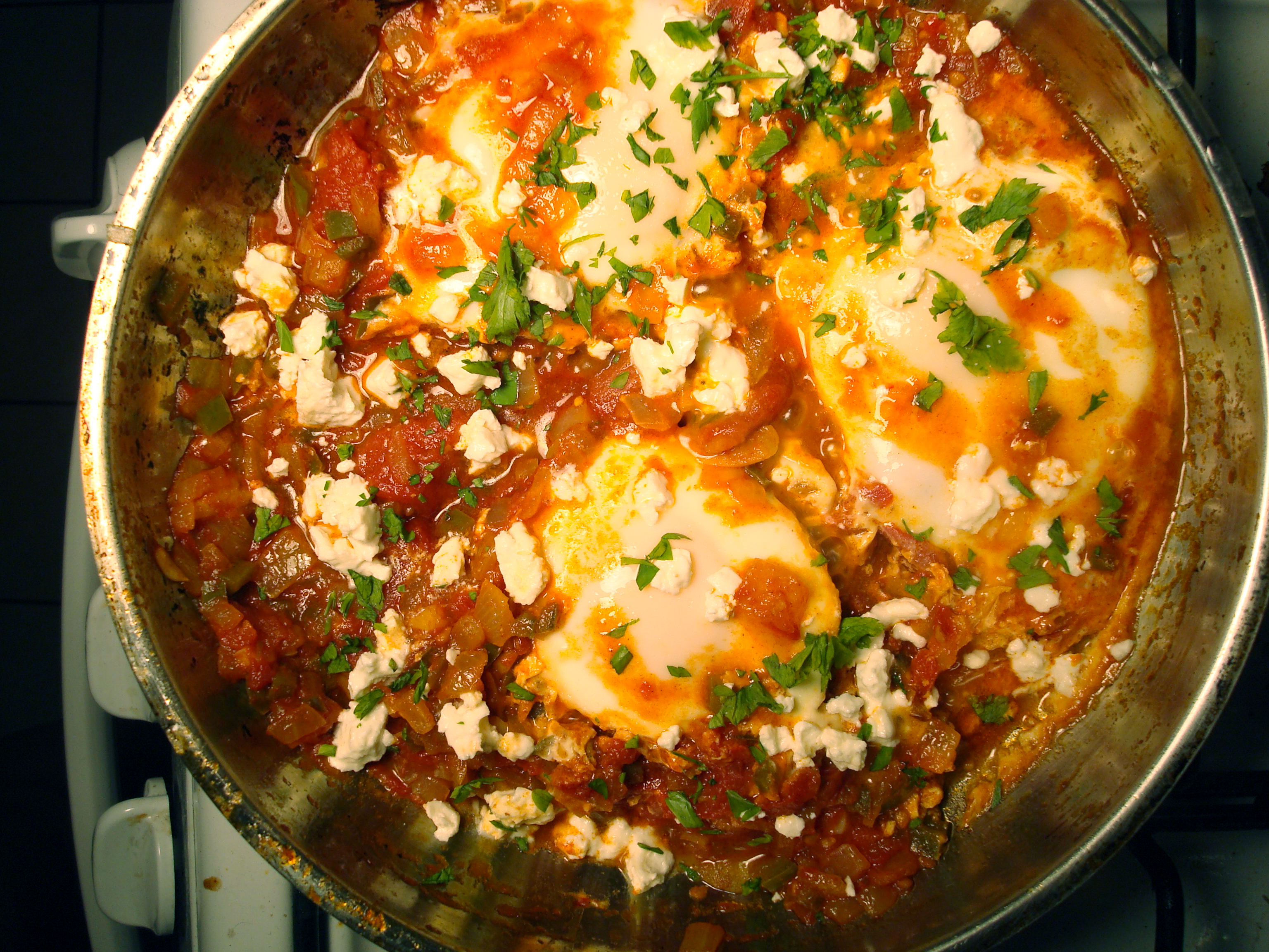 Shakshuka | Learning to Live Without a Microwave...Among Other Things